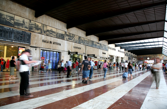 Stazione Firenze Santa Maria Novella (2346 clic)