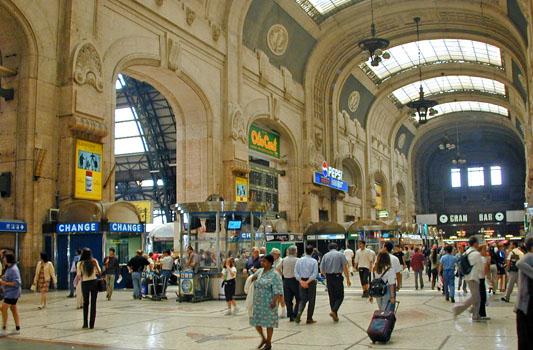 Stazione Milano Centrale - MILANO - inserita il 05-Apr-13