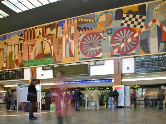 Stazione Verona Porta Nuova (1953 clic)