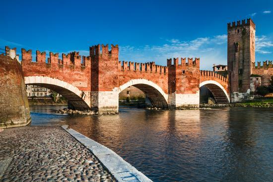 Ponte Scaligero - Verona (729 clic)