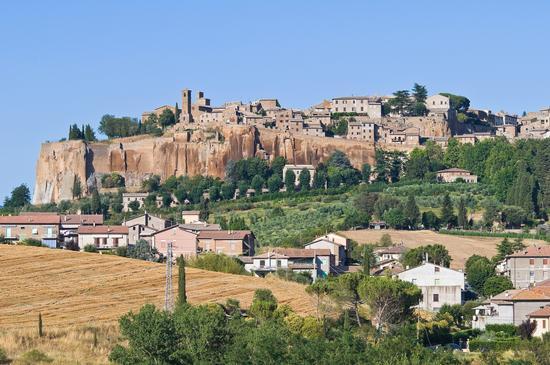 Veduta di Orvieto (860 clic)