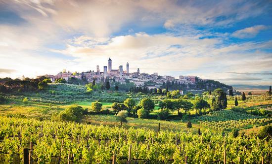 San Gimignano, Panorama (1060 clic)