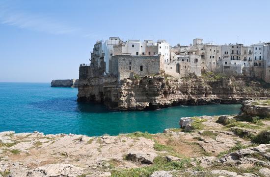 Panorama di Polignano a Mare (1103 clic)