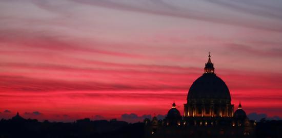 Panorama - Basilica di San Pietro - Roma (1196 clic)