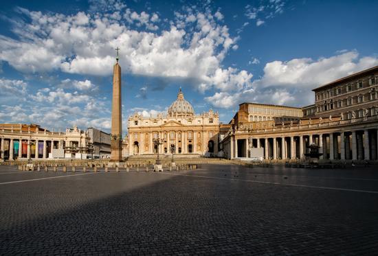 Piazza San Pietro, Vaticano - Roma (660 clic)