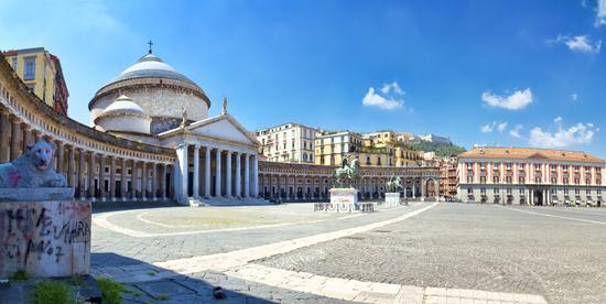 Piazza del Plebiscito - NAPOLI - inserita il 09-Dec-13