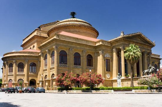 Teatro Massimo - Palermo (1314 clic)