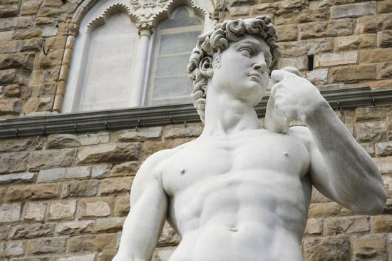 Il David di Michelangelo - Firenze (2531 clic)