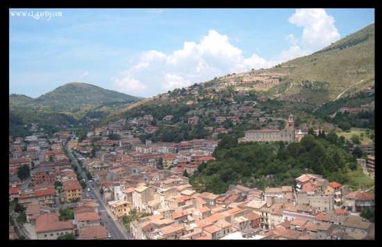 Itri vista dal Castello (4333 clic)