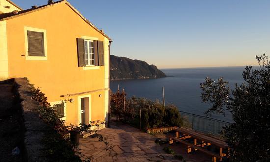 Il Monte di Portofino visto da SantApollinare - Sant'apollinare (344 clic)