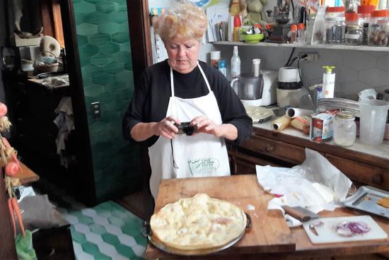Focaccia al formaggio di Recco - Bogliasco (1357 clic)