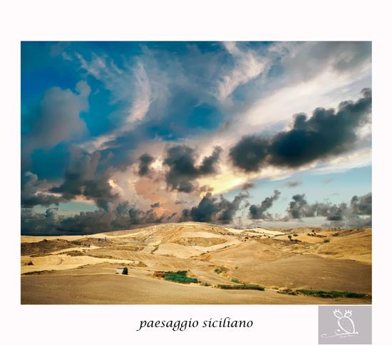 Paesaggio Siciliano - Resuttano (1171 clic)