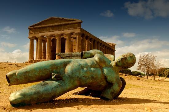 Caduta di Icaro - Agrigento (2720 clic)