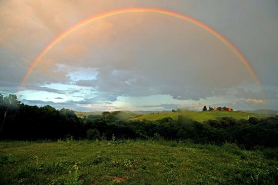 Arcobaleno completo ... - Asciano (1514 clic)