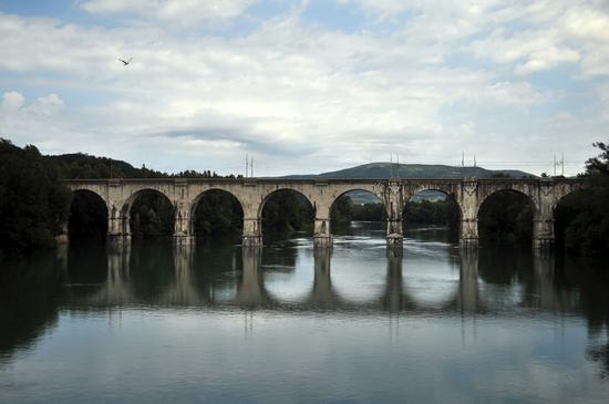 Ponte sull'Isonzo - Gorizia (1640 clic)