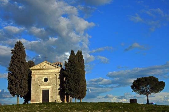 Chiesa di Vitaleta - Val d'orcia (1448 clic)