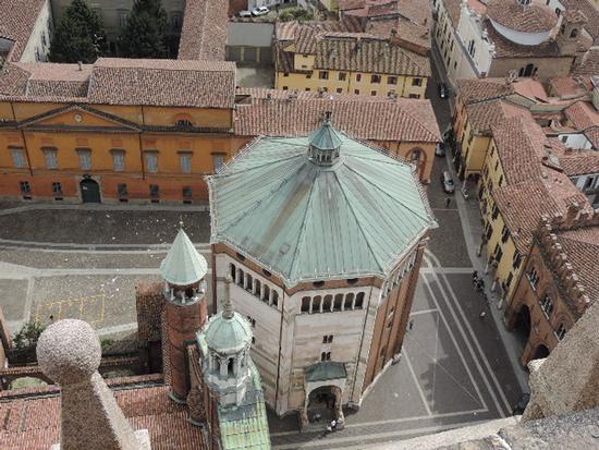 La cupola del Battistero - Cremona (1075 clic)