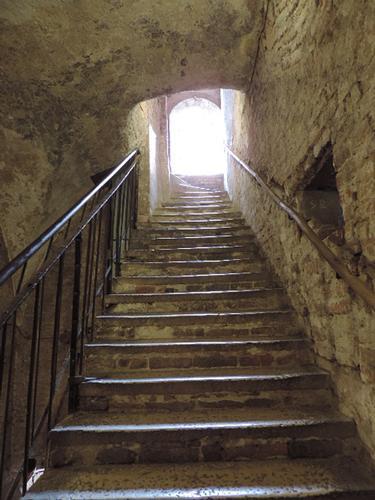 Le scale del Torrazzo - Cremona (1013 clic)