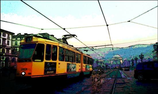 Torino  il tram (704 clic)