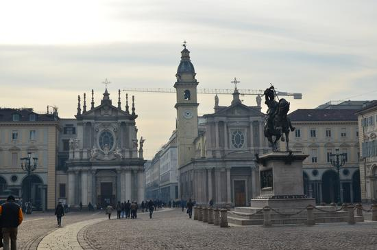 Piazza San Carlo - Il Caval ëd Brons - Torino (662 clic)
