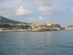 Veduta di Tropea dal mare (3436 clic)