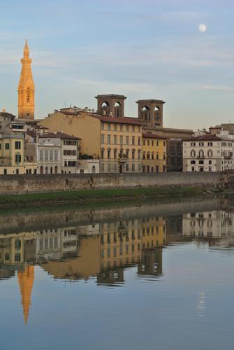 Toscana, Firenze al tramonto (766 clic)