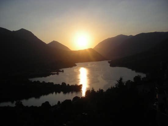 Tramonto - Barrea (2205 clic)