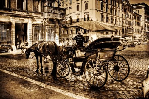 Roma in carrozza... (1027 clic)