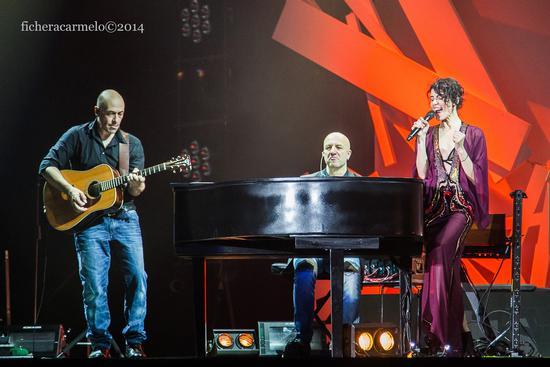 Giorgia in concerto, Assago 2014 (798 clic)
