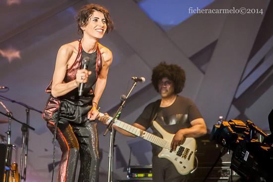 Giorgia in concerto, Assago 2014 (762 clic)