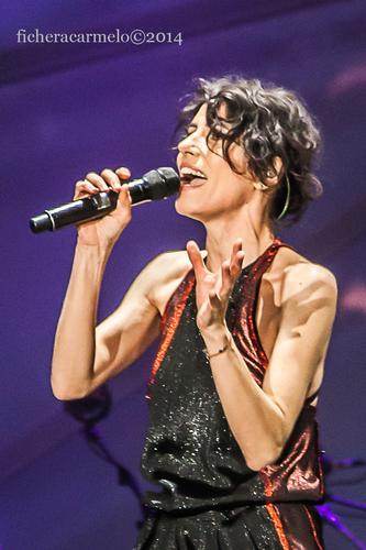 Giorgia in concerto, Assago 2014 (849 clic)