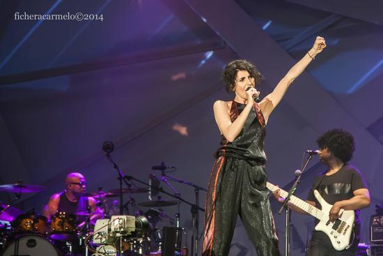 Giorgia in concerto, Assago 2014 (953 clic)