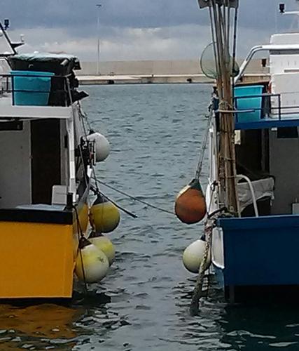 Tra le barche  - Monopoli (716 clic)