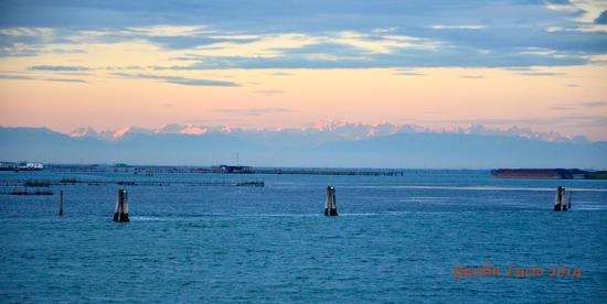 Mare e monti in Laguna Veneta. - Chioggia (968 clic)