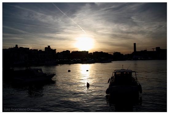 Porto al tramonto - Monopoli (1198 clic)