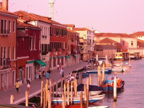 tramonto in laguna - Murano (884 clic)