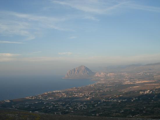 panorama sul mare da Erice (2031 clic)