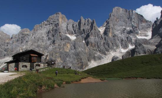 baita segantini - Passo rolle (1289 clic)