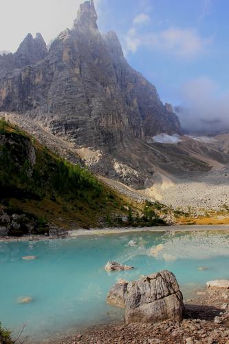 lago sorapiss - Cortina d'ampezzo (990 clic)
