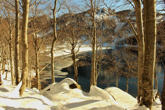 lago santo inverno - Corniglio (4249 clic)