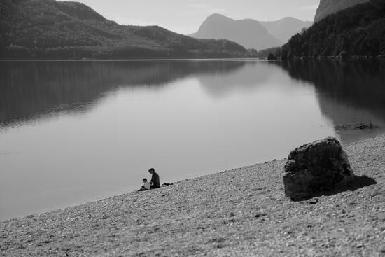 in riva al lago - Molveno (1485 clic)