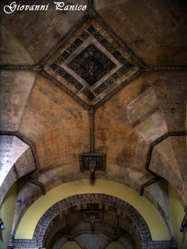 Soffitto chiesa di S. Angelo - Tricase (379 clic)