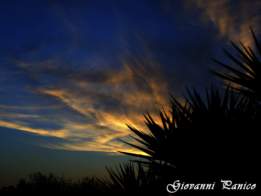 Tramonto III - Tricase (729 clic)