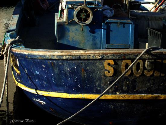 Santu Cosimu all'ormeggio. - Castro marina (968 clic)