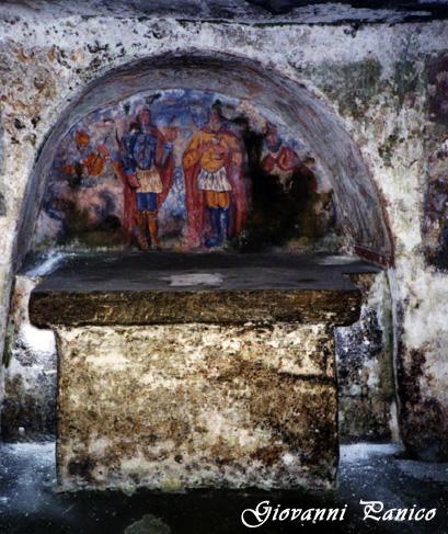 Cripta Madonna della Grotta - Ortelle (707 clic)