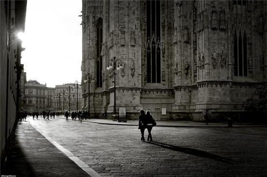 Verso il tramonto - Milano (3167 clic)