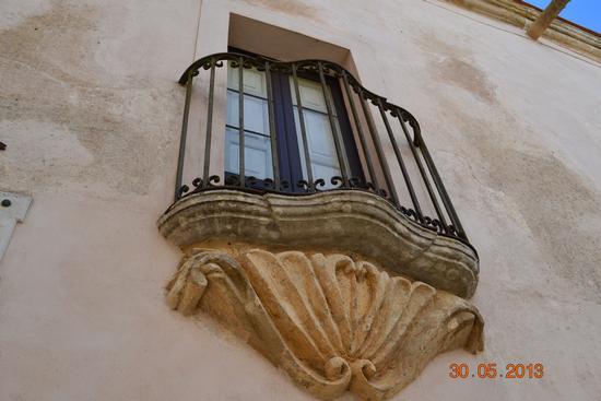 particolare del barocco siciliano - Erice (1724 clic)