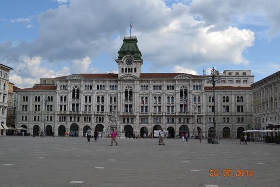 piazza unità d'italia - Trieste (1027 clic)