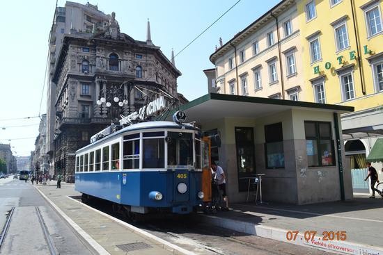 piazza oberdan-capolinea tram per opicina - Trieste (908 clic)