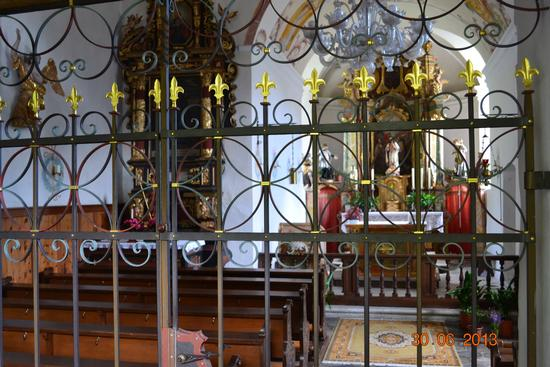 interno chiesetta s.urlico - Plars di mezzo (860 clic)